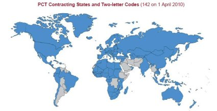 PCT Contracting States as of 1 April 10