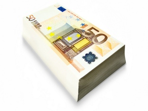 Stack of Euros with thanks to Andres Rueda