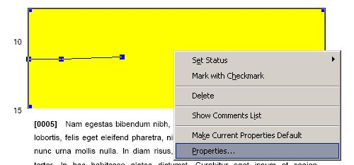 Right-click then Properties